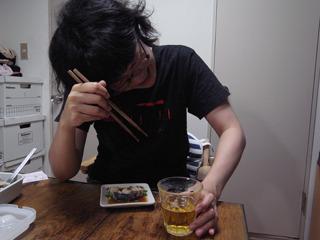 …クーッ!(たまらずビールに手が伸びました)