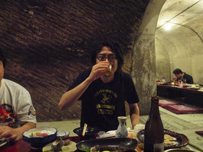 地底ビール