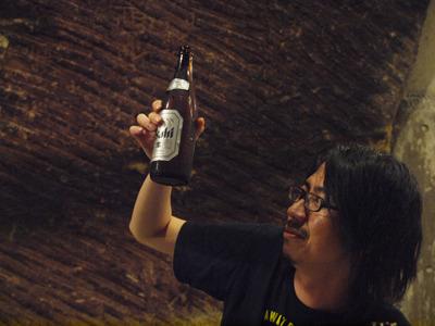 ビールの残りがわかりにくい