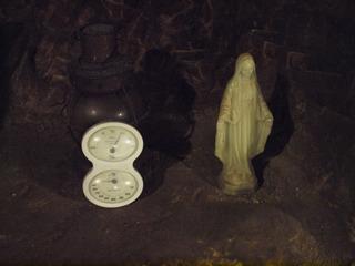 そしてマリア像