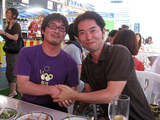 大阪に「ツレ」ができたよ。名前はまだ知らないけど。