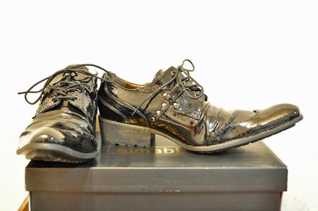 第一選手尖った靴