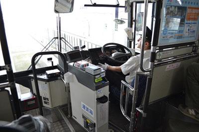 中は普通の路線バス