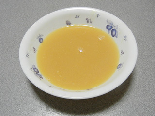 麺を食べた後にレンジで50秒~1分程度で