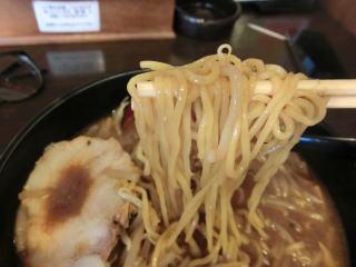 名古屋の八丁みそを使った珍しい味噌ラーメン
