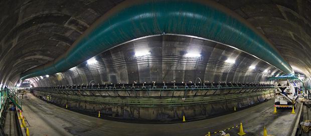 中央環状品川線も工事中!【→「すごく掘るのがたいへんそうなトンネル」】
