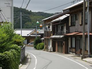 一本松という集落で一休みしていたら――