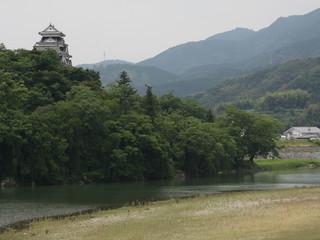 天守を完璧に復元した大洲城も素晴らしい