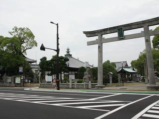 55番札所、南光坊に到着(元は、隣の別宮大山祇神社が札所です)