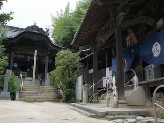 57番札所、栄福寺へ(ここも元は神社以下略)