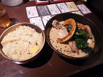 ご飯と一緒にいただきます