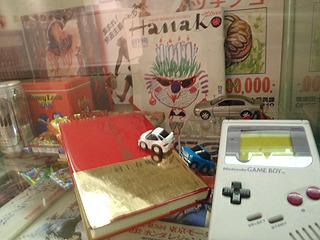 その当時流行した商品なども展示。これを見るだけでも楽しい。