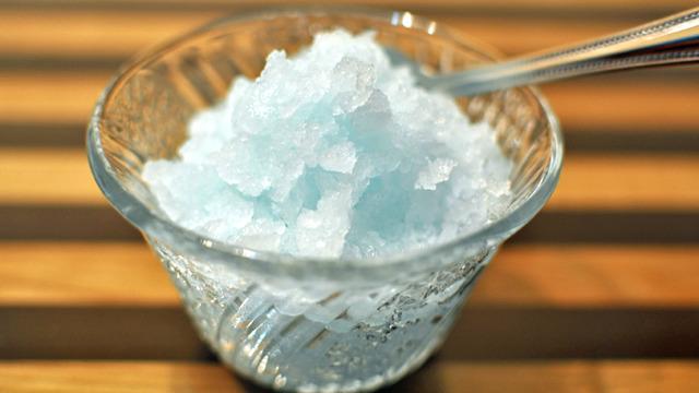 ガリガリ君ソーダ味かき氷