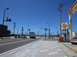 鎌倉、由比ケ浜海水浴場。