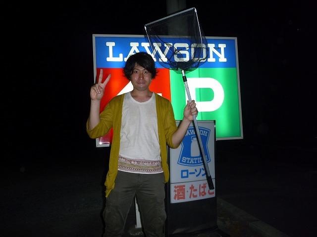 そんなわけでやってきましたのは茨城県小美玉市のローソン。この時すでに深夜1時。これからここで夜を明かす。