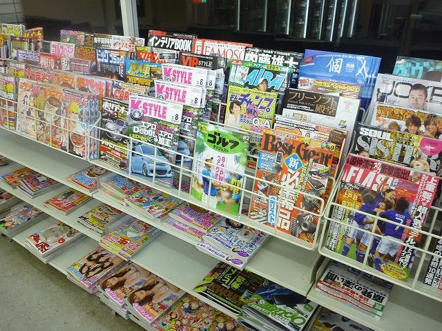 万が一虫捕りに飽きたら雑誌も買えるという周到具合。