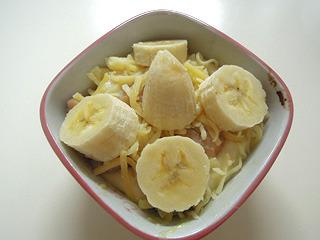 バナナのせます!