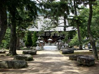80番札所の讃岐国分寺へ