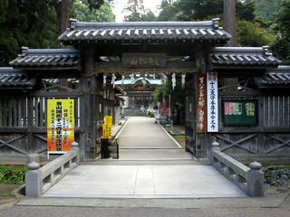 崇徳天皇の陵墓がある81番札所の白峯寺に