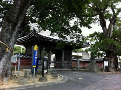 四国霊場総奥の院と称される、與田寺(よだじ)に到着