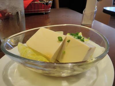豆腐サラダ150円