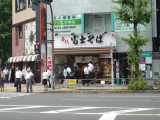 ちなみに神田はやはりそばの聖地だからか