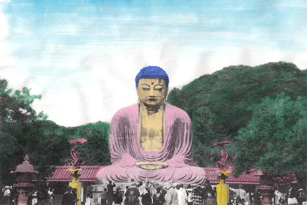 アジア圏にありそうな仏像