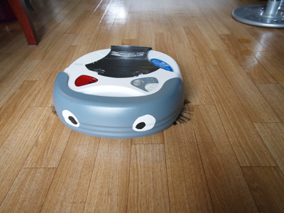 お掃除ロボットと戯れたい