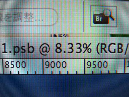 だいたい、画面に全体表示させた状態で、この倍率!