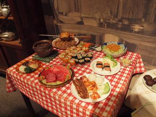 文化が融合した食事、おいしそう