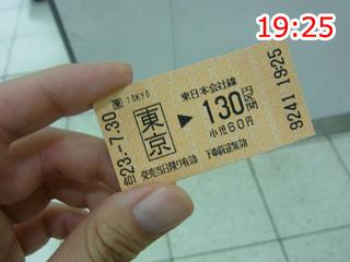 入場券を買うつもりが乗車券買っちゃったけど言えば大丈夫。