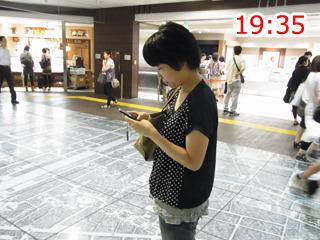 北山さんが何線で来るのか検索中(携帯を使わないという主旨を忘れてる)