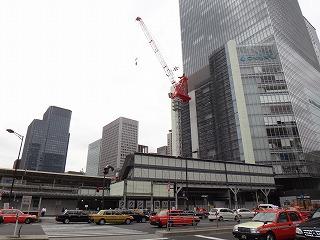 上にも伸びてるけど地下も発達した東京駅