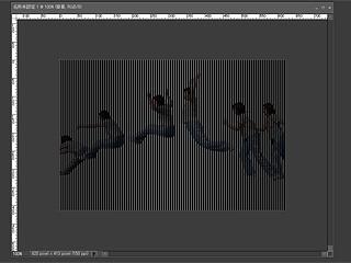 モアレというか画像処理の事情で、妙に不安な縞々が浮上。