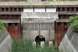 空堀川の下はトンネルで繋がっていた