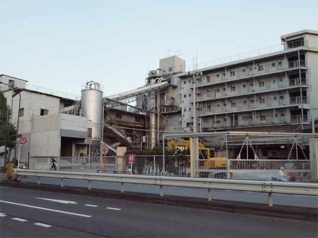 目黒区のコンクリート工場