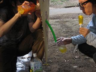 泥水ろ過装置を作りますよ 小学生が架空の先生に語りかけるという実験的な文体だった