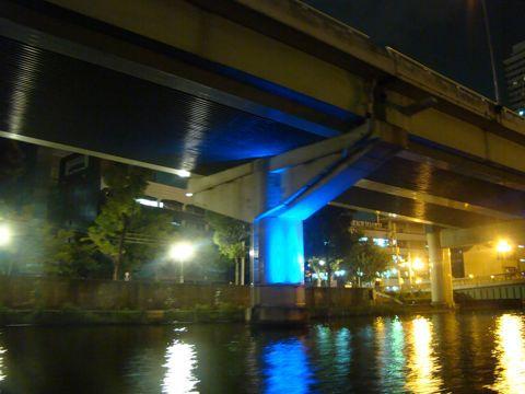 そしてさらに、東京の水路では悪者にされがちな橋脚や