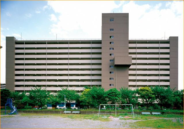 褐色の恋人・平井七丁目アパート。
