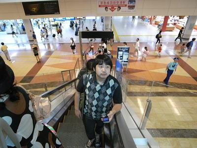 羽田空港にやって来た
