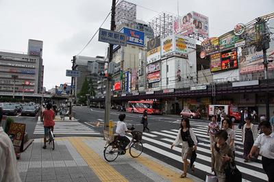 実は僕にとって初めての大阪。