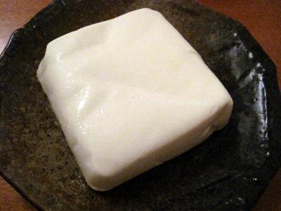 ごま油豆腐