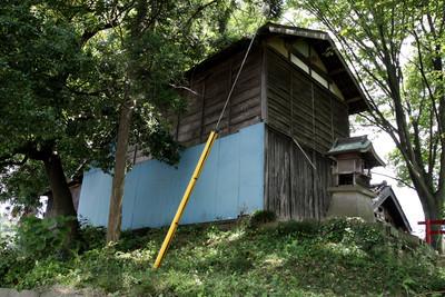洪水時の倉庫件避難所として、どの家にもあったという