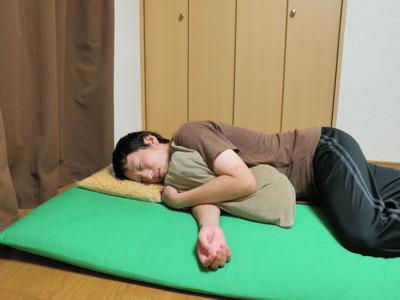 タネの状態のやつでも充分枕としてイケる