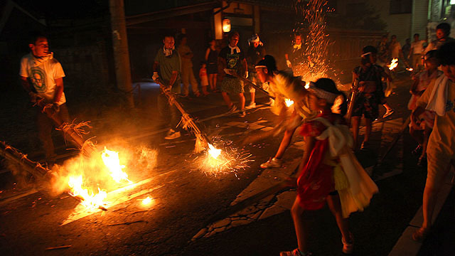 日野火振り祭り