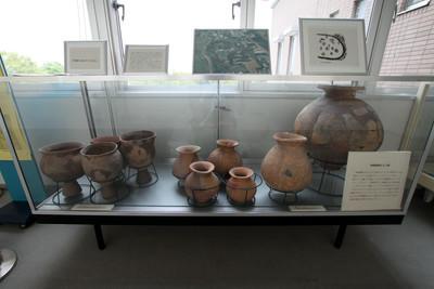 市役所3階には発掘品が展示されているので要チェック!