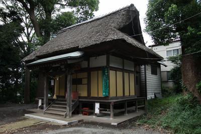 享保12年(1727年)に建てられた熊野神社(市南東部)