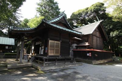 鎌倉にある円覚寺の大工が建てたという五社神社(西部)