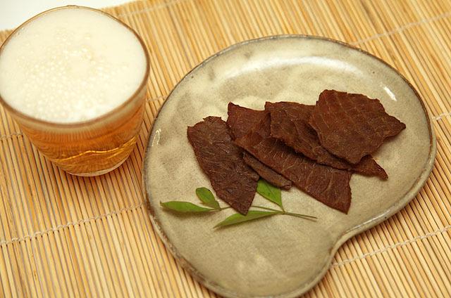 ビールジャーキーは果たして美味いのか。