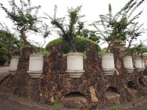 こういう木の植え方とか、たぶん日本初だろう。